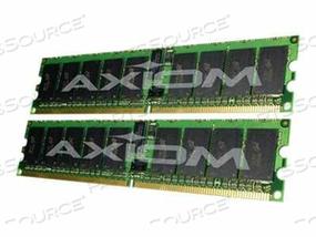 AXIOM AX - DDR2 - 4 GB : 2 X 2 GB - DIMM 240-PIN - 400 MHZ / PC2-3200 - REGISTERED - ECC - FOR DELL POWEREDGE 1800, 1850, 1855, 2800, 2850, PRECISION FIXED WORKSTATION 470, 670