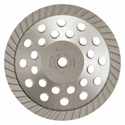 HUSQVARNA Turbo-6 Diamond Sgmnt Cup Wheel,Turbo,7x5//8-7//8