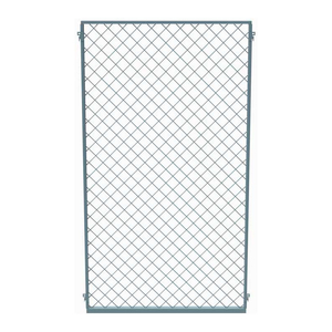 EZ WIRE MESH PARTITION PANEL, 3'W X 10'H by Husky Rack & Wire