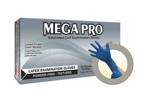 D8391 DISPOSABLE GLOVES RUBBER LATEX S PK50 by Ansell Healthcare