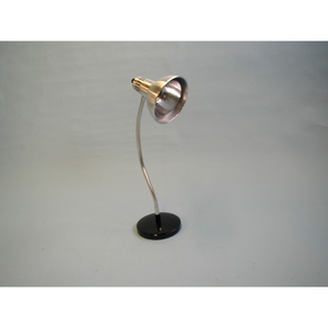 DESKTOP LINE VOLTAGE HALOGEN LAMP WITH ALUMINUM SHADE by Brandt Industries, Inc.