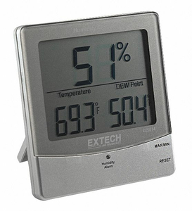 INDOOR DIGITAL HYGROMETER 14 TO 140 F by Extech Instruments