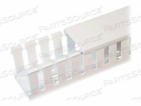 PANDUIT PANDUCT TYPE NE NORYL HALOGEN FREE WIRING DUCT - CABLE RACEWAY - 6 FT - WHITE by Panduit