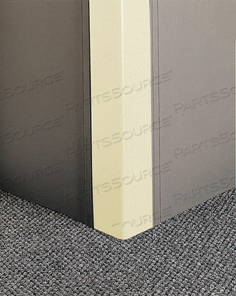 CORNER GRD 96IN.H IVORY TEXTURED by Pawling Corp