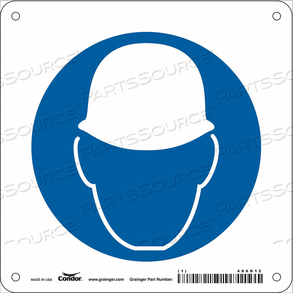 SAFETY SIGN 7 W 7 H 0.032 THICKNESS by Condor
