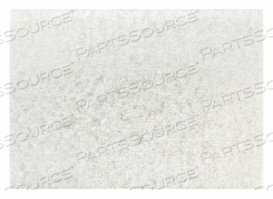 BUFF PAD WHITE SIZE 12 X 18 PK5 by Tough Guy