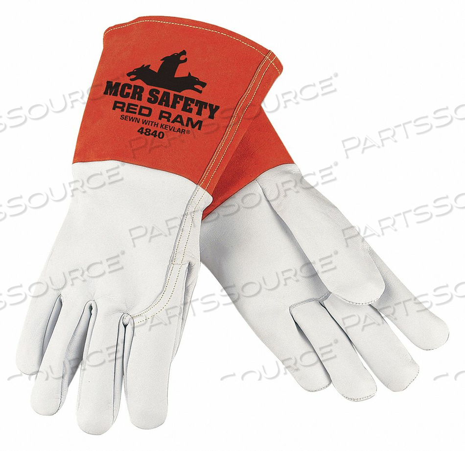WELDING GLOVES MIG TIG XL/10 PK12 by MCR Safety