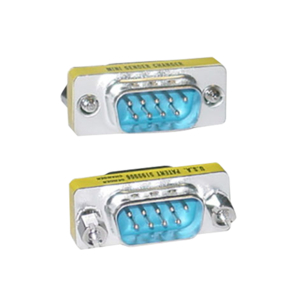SERIAL MINI GENDER CHANGER / COUPLER, DB9 MALE TO DB9 MALE by CableWholesale.com