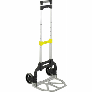 4049 STOW AND GO COLLAPSIBLE ROLLING CRATE CART by Safco