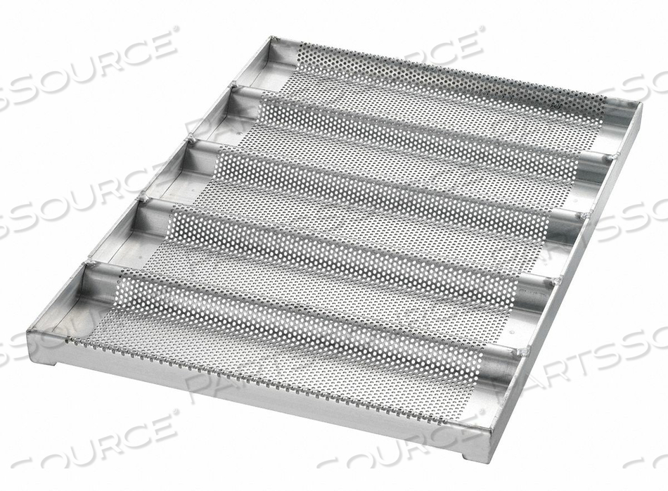 SUB SANDWICH ROLL PAN 5 MOULDS by Chicago Metallic