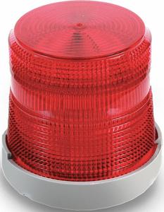 VISUAL SIGNAL LIGHT MULTI-STATUS RED by Edwards Signaling