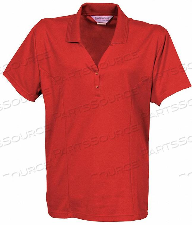 WOMEN'S KNIT SHIRT 4XL METRO RED by Fashion Seal