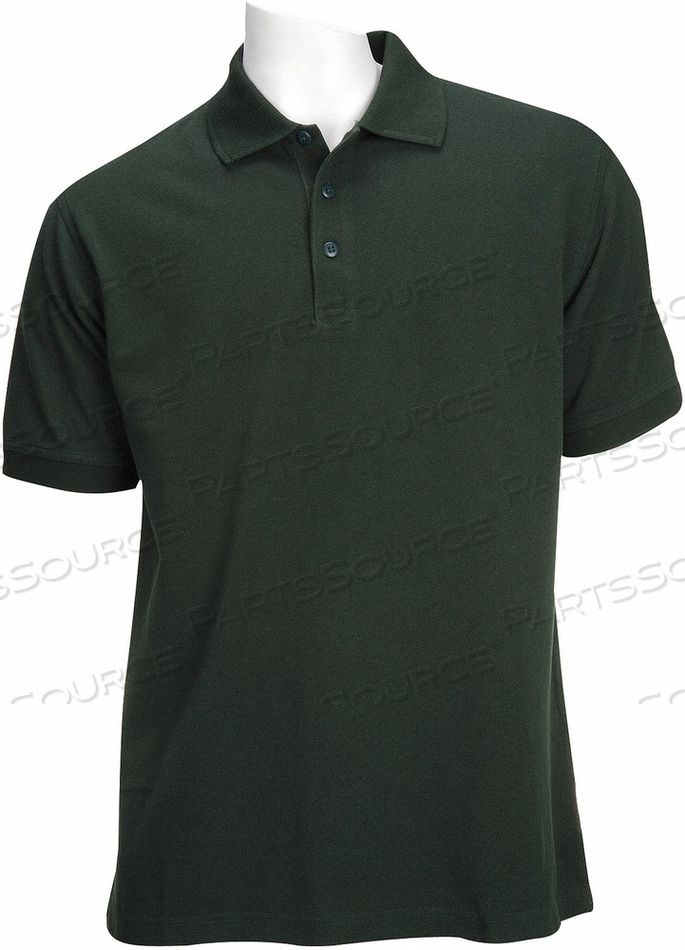 D4693 PROFESSIONAL POLO LE GREEN 2XL by 5.11 Tactical