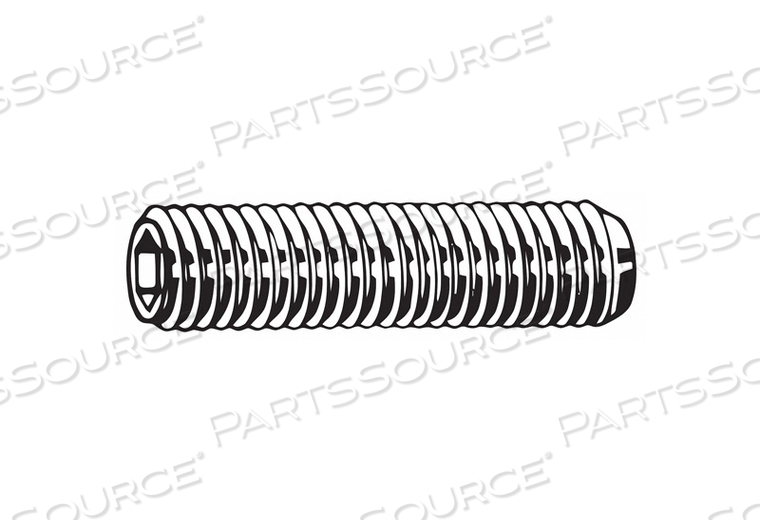 SET SCREW CUP 60MM L STEEL PK1200 by Fabory