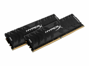 HYPERX PREDATOR - DDR4 - 16 GB: 2 X 8 GB - DIMM 288-PIN - 2400 MHZ / PC4-19200 - CL12 - 1.35 V - UNBUFFERED - NON-ECC - BLACK by Kingston Technology