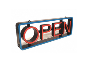 LED OPEN SIGN 27-3/4 L 2-3/4 W by CM Global