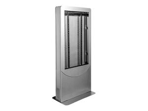 "PEERLESS-AV PORTRAIT KIOSK KIPC2542-W - STAND FOR LCD DISPLAY / TOUCHSCREEN - LOCKABLE - STEEL - GLOSS WHITE - SCREEN SIZE: 42"" - FLOOR-STANDING, FLOOR STAND MOUNTABLE by Peerless Industries, Inc."