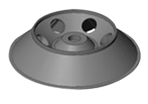 6-PLACE FIXED ANGLE ROTOR by Drucker Diagnostics, Inc. (formerly QBC Diagnostics)