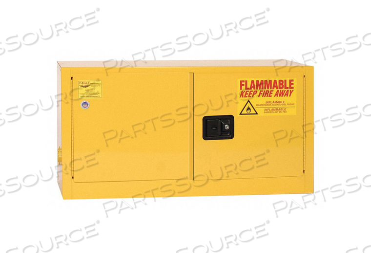 FLAMMABLE LIQUID SAFETY CABINET YELLOW by Eagle