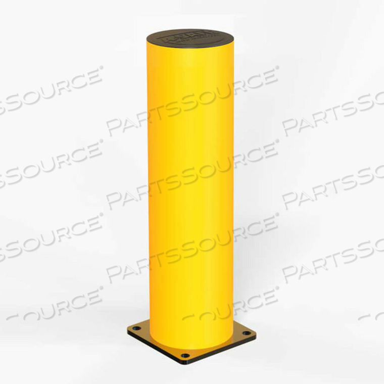 "29-1/2""H FLEXIBLE BOLLARD, CONCRETE INSTALLATION, YELLOW, 006-004 by A-Safe, Inc"