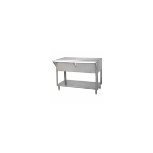 """SOLID TOP TABLE, 47.125""""L S/S CABINET BASE by Advance Tabco"""