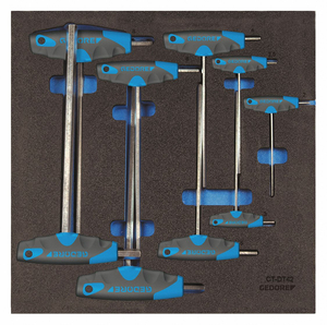 HEX KEY SET 1 PIECES by Gedore