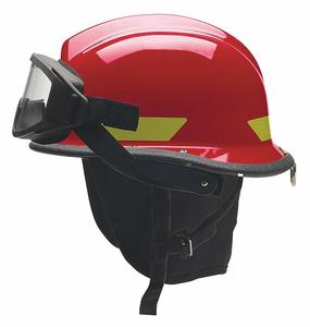 FIRE HELMET ULTEM(R) SHELL RED by Bullard