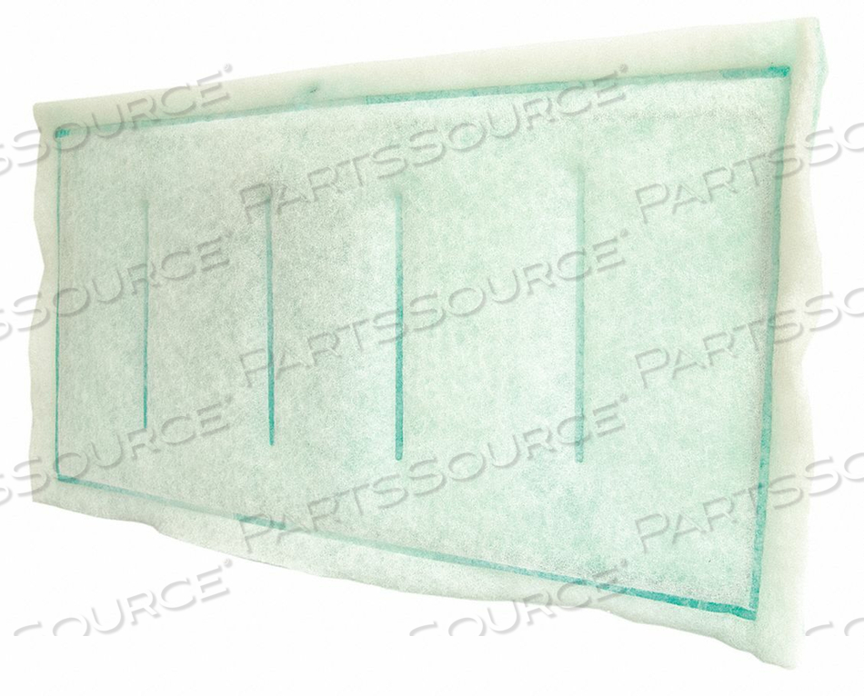 RING PANEL FILTER 3-PLY 14X25 by Air Handler