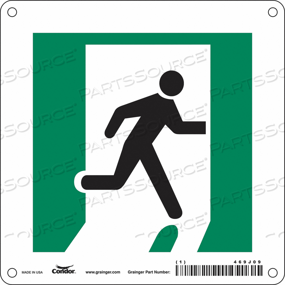 SAFETY SIGN 6 W 6 H 0.055 THICKNESS by Condor