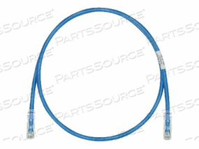 PANDUIT TX6-28 CATEGORY 6 PERFORMANCE - PATCH CABLE - RJ-45 (M) TO RJ-45 (M) - 1.6 FT - UTP - CAT 6 - IEEE 802.3AF/IEEE 802.3AT - BOOTED, HALOGEN-FREE, SNAGLESS, STRANDED - PASTEL BLUE by Panduit