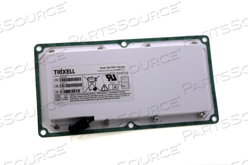 BATTERY RECHARGEABLE by Philips Healthcare (Parts)