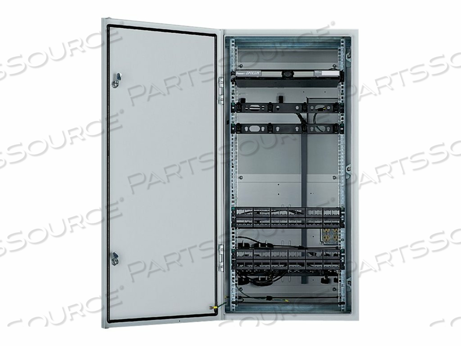 PANDUIT INDUSTRIAL DISTRIBUTION FRAME (IDF) - RACK - CABINET - WALL MOUNTABLE - RAL 7035, LIGHT GRAY POWDER PAINT, MILD STEEL - 26U by Panduit
