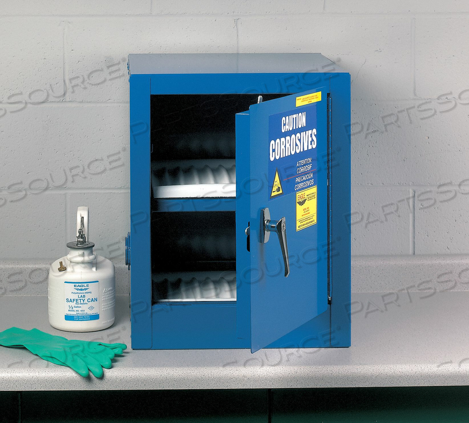 CORROSIVE SAFETY CABINET 17-1/2 IN W by Eagle