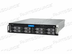 THECUS TECHNOLOGY N8910 - NAS SERVER - 8 BAYS - RACK-MOUNTABLE - SATA 6GB/S / SAS 6GB/S - RAID 0, 1, 5, 6, 10, 50, JBOD, 60 - RAM 4 GB - GIGABIT ETHERNET - ISCSI - 2U