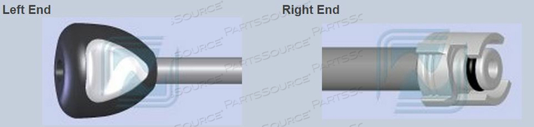 1 TUBE NIBP ADAPTER HOSE QUICONNECT TO MALE QUICK COUPLER, 1 TUBE by Advantage Medical Cables, Inc (AMC)