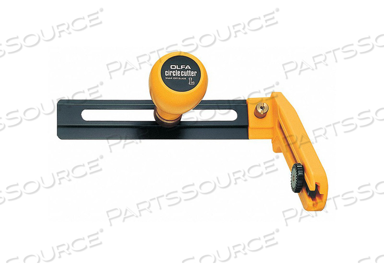 COMPASS CIRCLE CUTTER 3 TO 12 IN YLW/BLK by Olfa