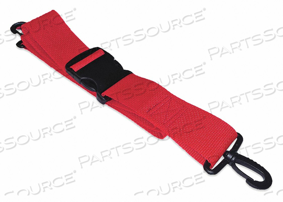 STRAP RED 7 FT L by Disaster Management Systems (DMS)