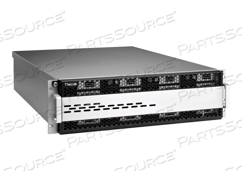THECUS TECHNOLOGY W16850 - NAS SERVER - 16 BAYS - RACK-MOUNTABLE - SATA 6GB/S / SAS 12GB/S - RAID 5 - RAM 16 GB - GIGABIT ETHERNET - ISCSI - 3U