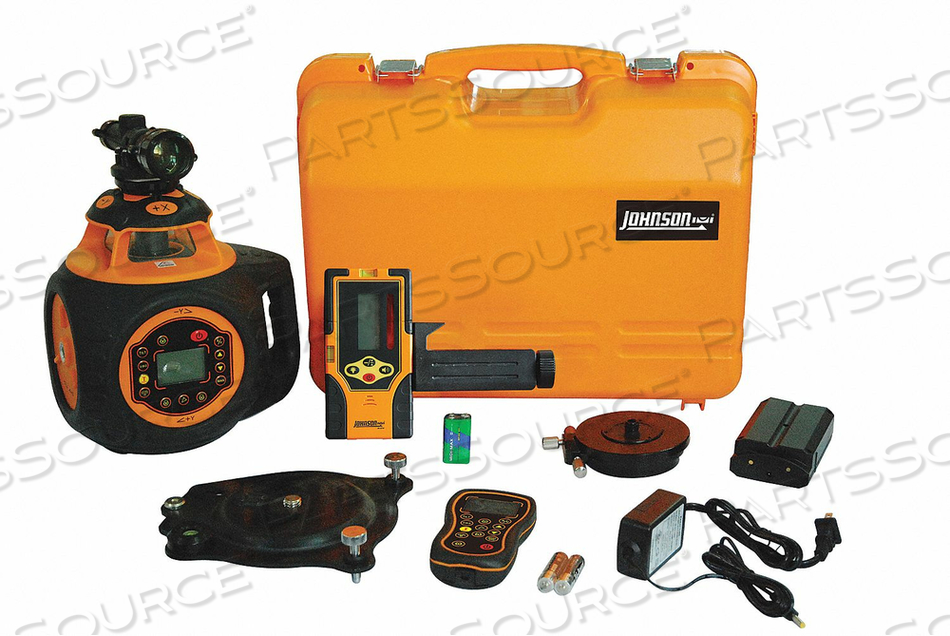 ROTARY LASER LEVEL EXT RED 2000 FT. by Johnson Level