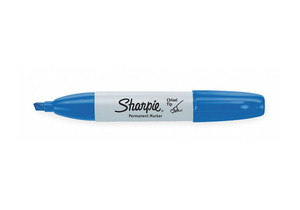 F8500 PERMANENT MARKER BLUE CHISEL PK12 by Sharpie