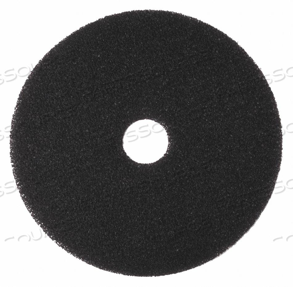 STRIPPING PAD BLACK SIZE 19 ROUND PK5 by Tough Guy