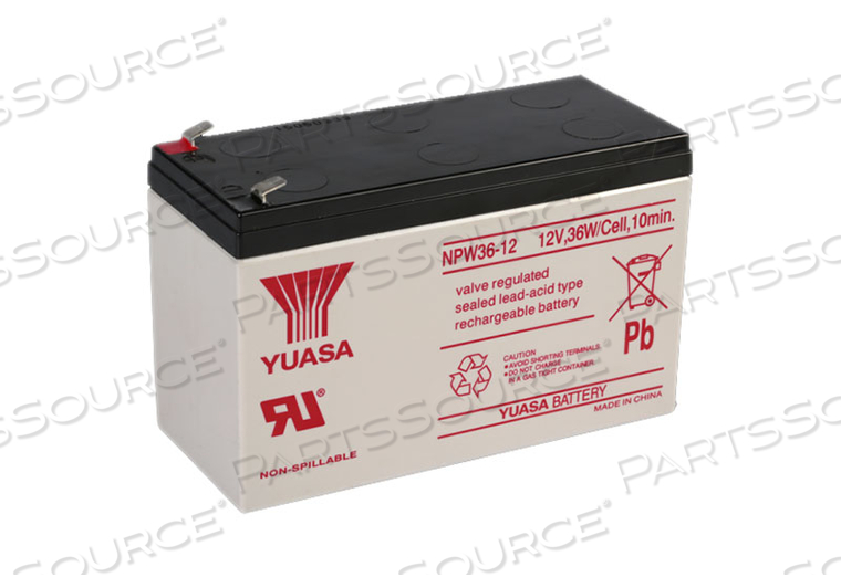 BATTERY, SEALED LEAD ACID, 12V, 8.6 AH, FASTON (MINIMUM ORDER OF 20)