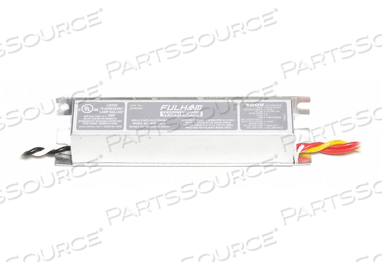 ELECTRONIC BALLAST INSTANT 120V 0.33A by Fulham
