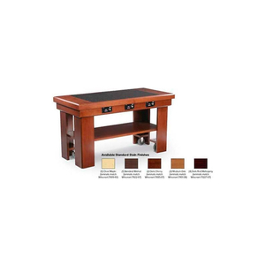 """INDUCTION BUFFET TABLE, , DARK RED MAHOGANY, 76"""" X 30"""" by Vollrath"""