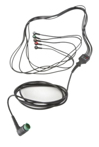 5 LEAD SNAP ECG CABLE by Physio-Control