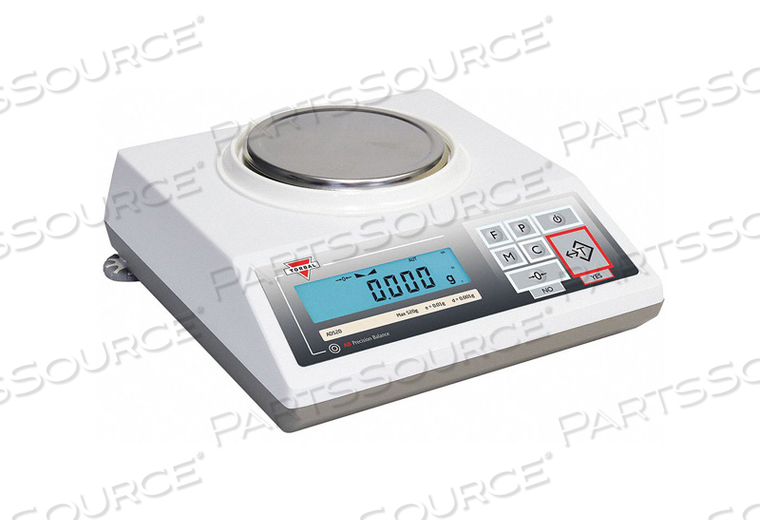 PRECISION BALANCE SCALE 520G 4-5/7 IN. by Torbal