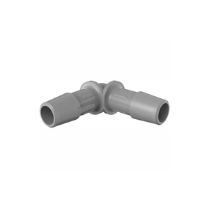 """3/8"""" BARBED EQUAL 90 DEGREE ELBOW, 316L STAINLESS STEEL by Eldon James"""