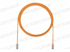 PANDUIT TX6 - PATCH CABLE - RJ-45 (M) TO RJ-45 (M) - 7 FT - UTP - CAT 6 - STRANDED, HALOGEN-FREE, BOOTED - ORANGE by Panduit