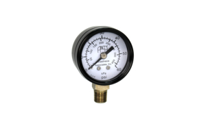 GAUGE, 1/8 IN MPT, 1-1/2 IN DIA, 0 TO 60 PSI, BOTTOM MOUNTING by Anesthesia Associates