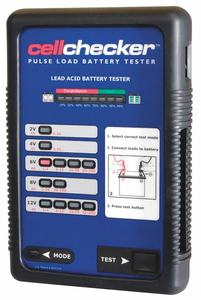 PULSE LOAD BATTERY TESTER 12INH X 10INL by Solo